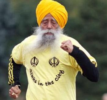 Secrets of the 100-yr-old Marathoner