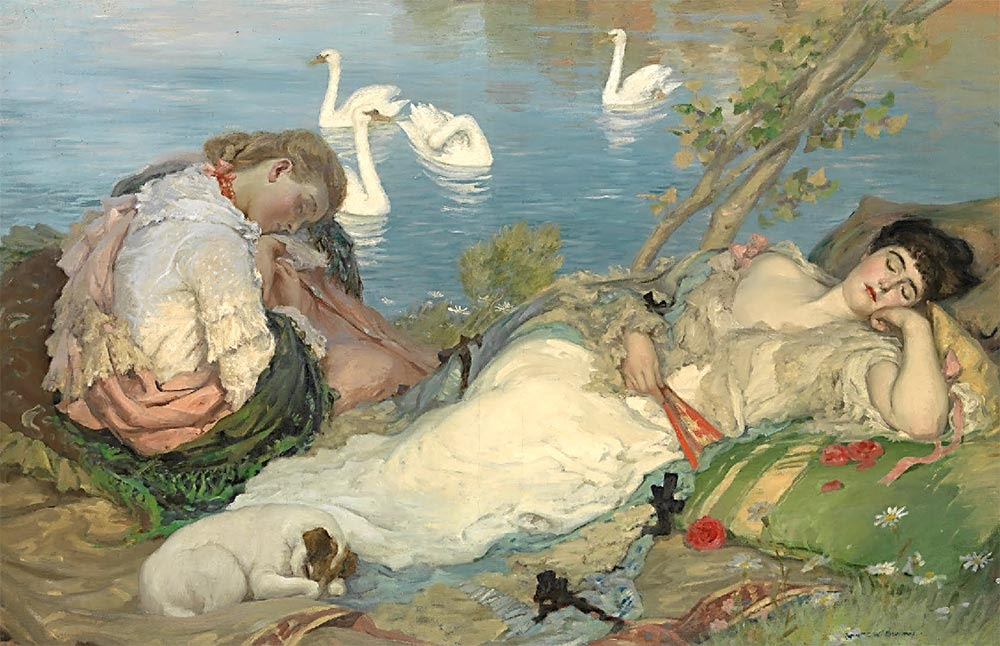 Endormies, de Rupert Bunny
