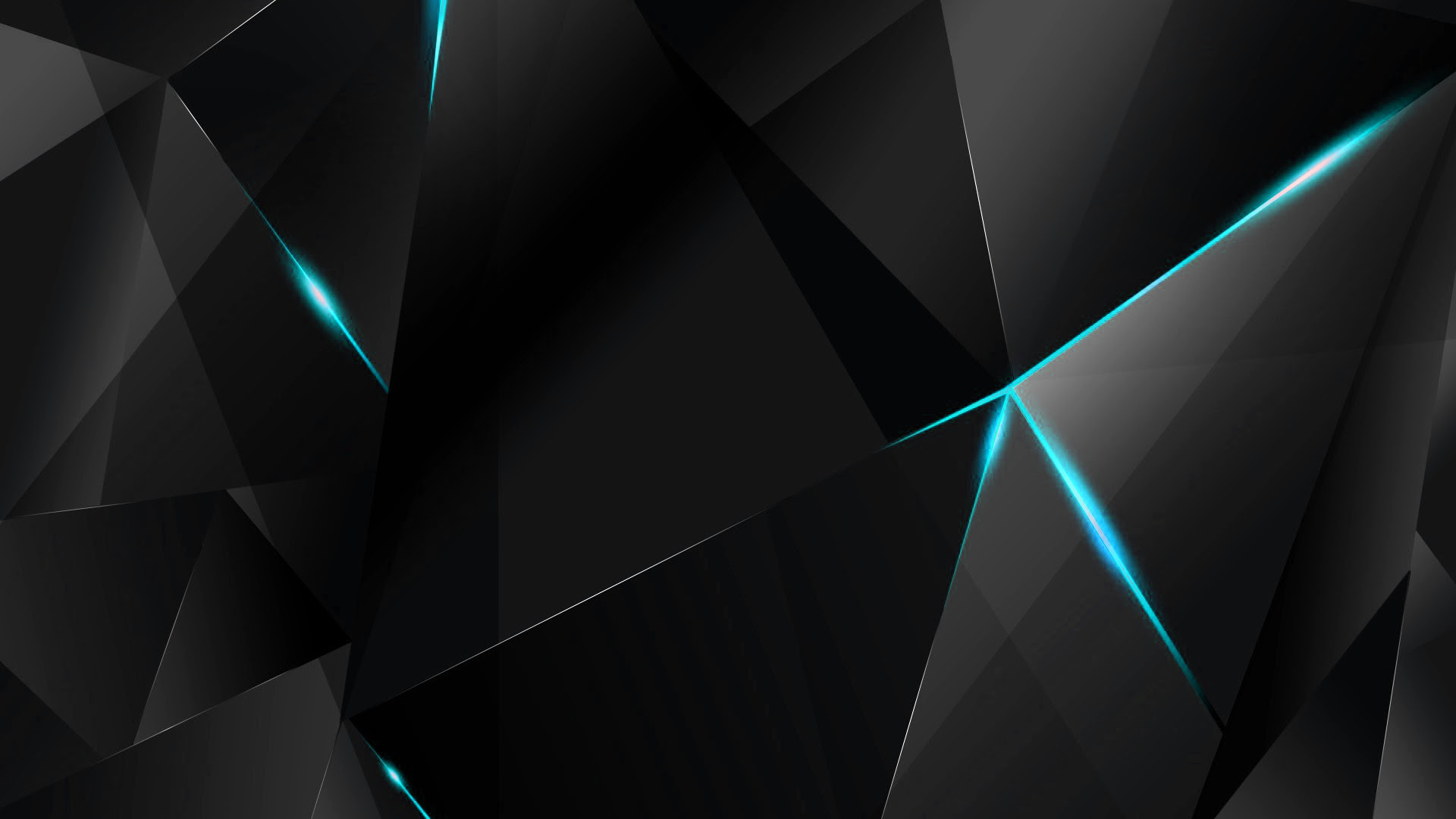 Black and Cyan Wallpaper (87+ images)