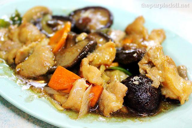 Three Mushroom Pork (P178)