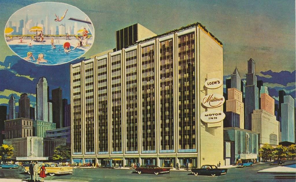 The Cardboard America Motel Archive Loew 39 S Midtown Motor