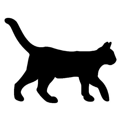 Gatos Negros De Halloween Para Colorear Imagui
