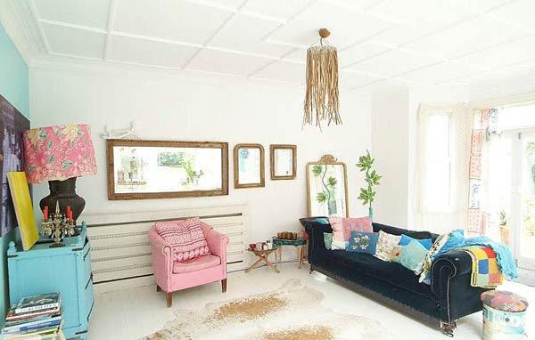 Eclectic Decorating Style   InteriorHolic.