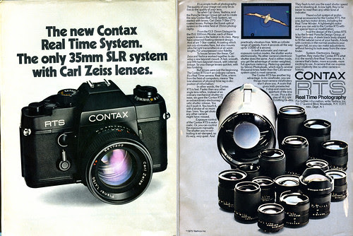 Contax RTS - Real Time System