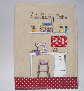 Sewing Notebook Front 3