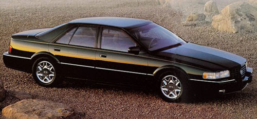 Underrated Lookers: The '92-'97 Cadillac Seville STS ...