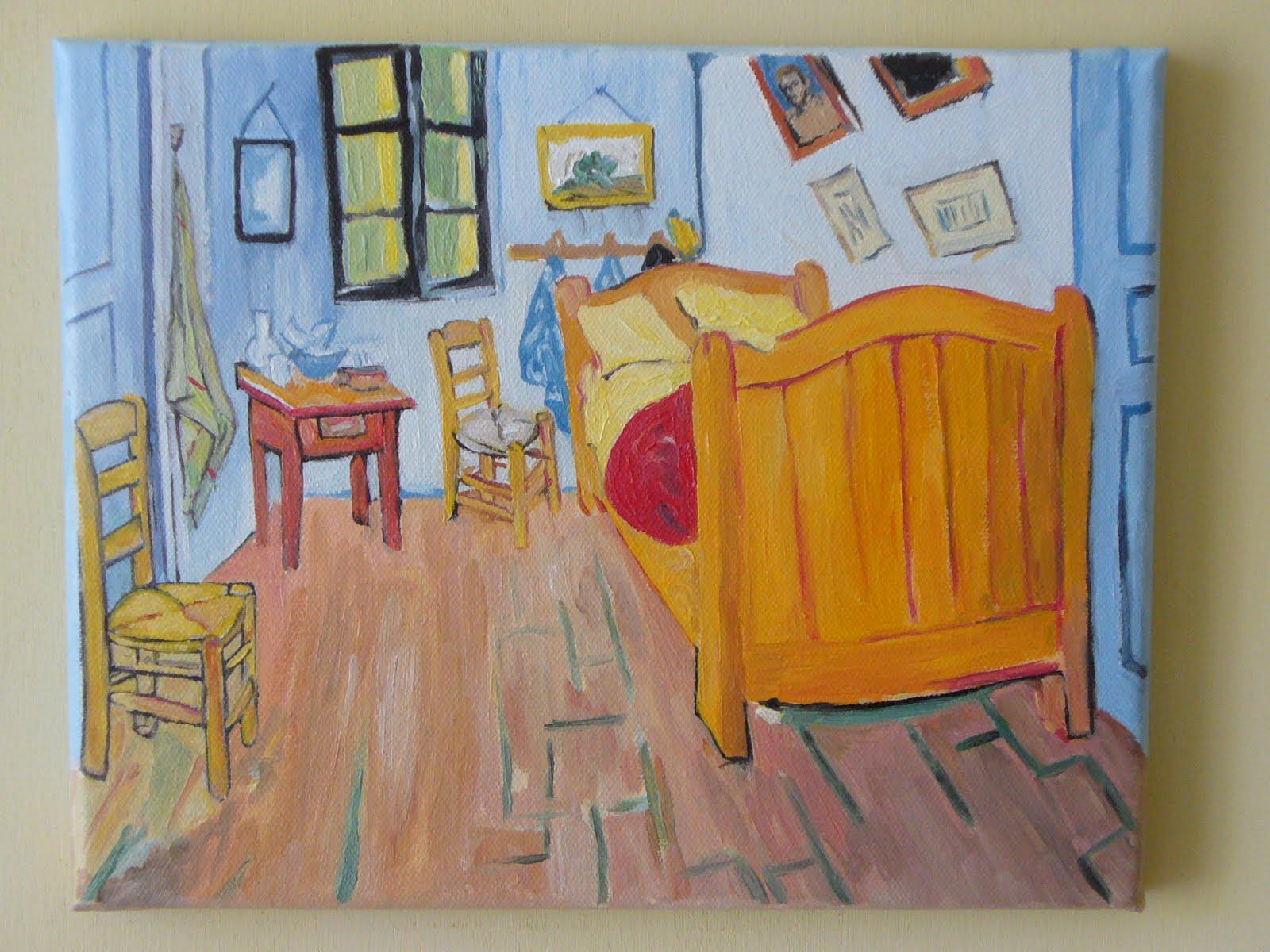 Stanza Di Van Gogh Da Colorare - Acolore