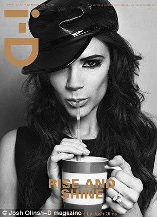 O tiro aparece na nova edição da revista iD