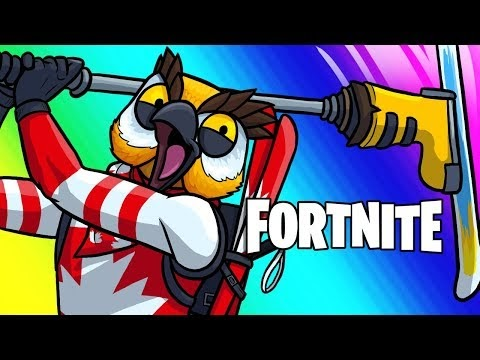 Fortnite Battle Royale Funny Moments - Team Canada