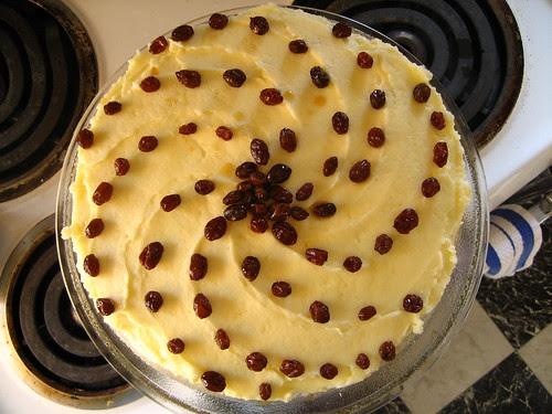rum raisin birthday cake