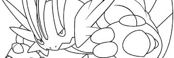 Mega Free Printable Pokemon Coloring Pages