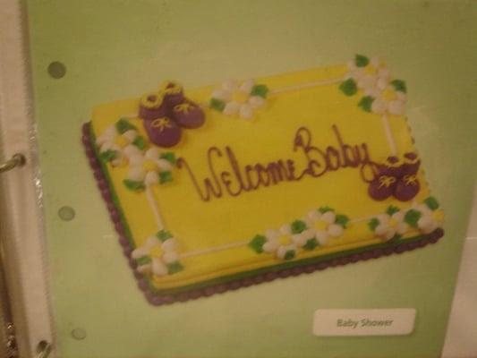 Safeway Bakery Book: Baby Shower