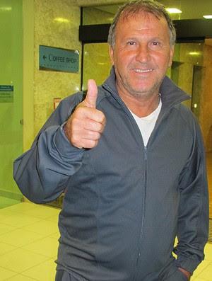zico hospital rios dor (Foto: Fabio Leme / Globoesporte.com)