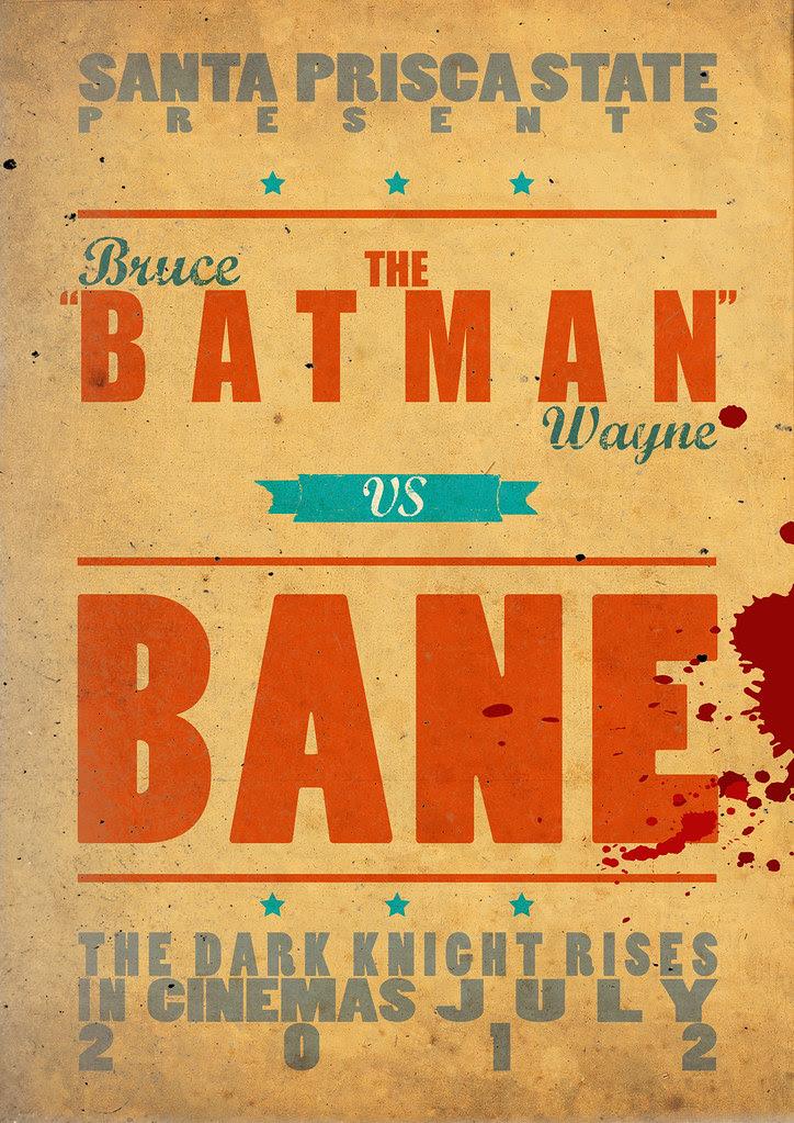 the batman vs bane