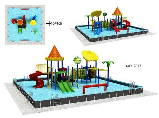 Plastic Slide Theme Park Water Rides for Sale