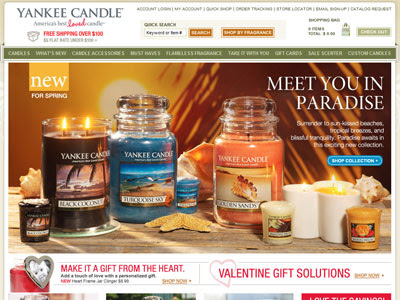 Yankee Candles Paradise Collection Home Fragrances ...