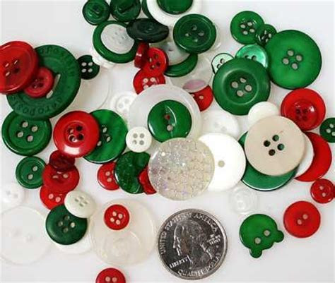 Buttons Galore Holiday Christmas Buttons   Buttons   Basic