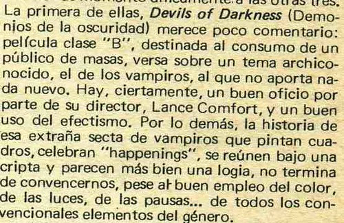 devil of darkness