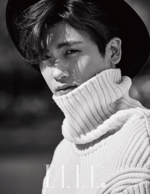 ZE:A'sPark Hyung Sik for Elle Korea October 2015. Photographed by Choi Mun Hyeok