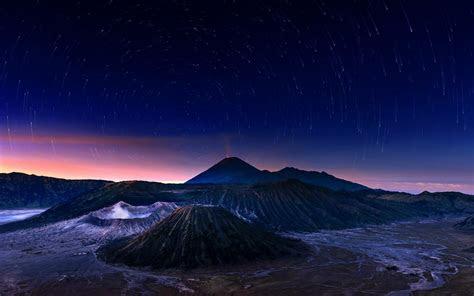 bintang langit malam hd wallpaper desktop lebar definisi
