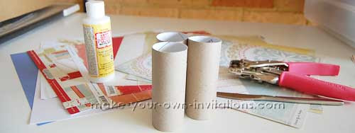 Toilet Roll Mini Album