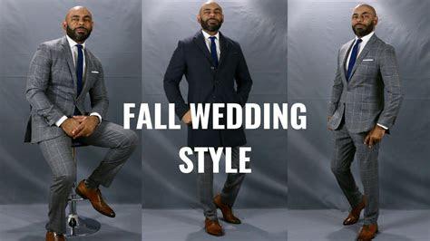 dress   fall weddinghow men  dress