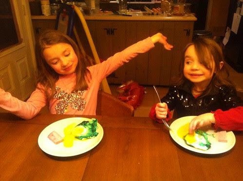 We do so like green eggs and ham!