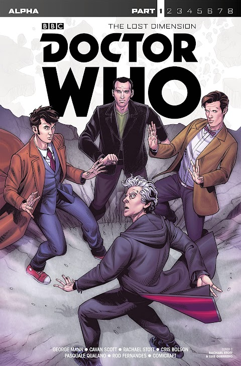 Doctor Who The Lost Dimension Comic