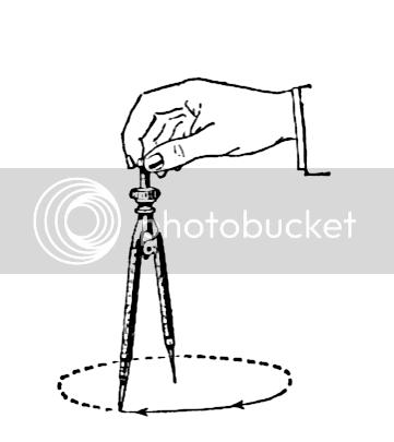 Pearson Scott Foresman's geometric compass illustration