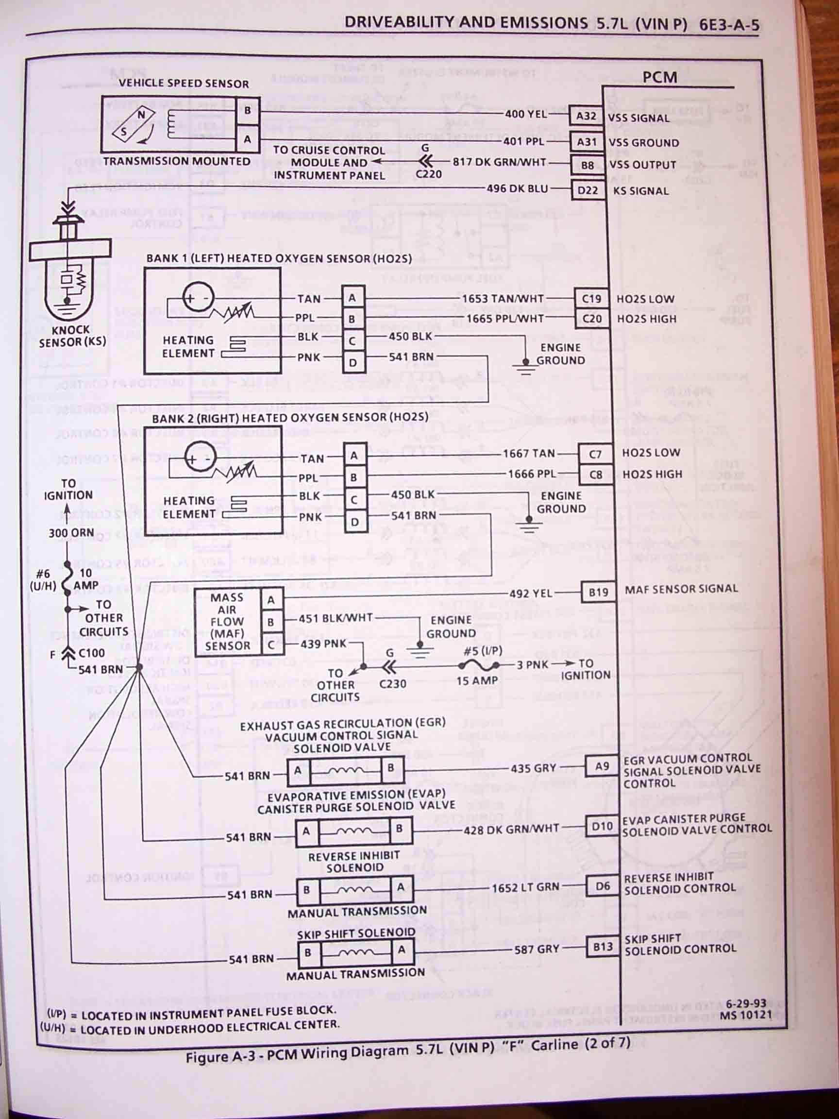 1994 Firebird Wiring Harnes Location