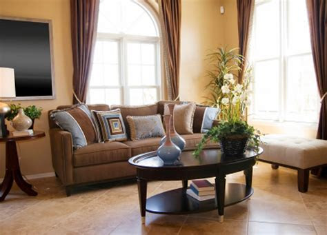 living room decor ideas brown leather sofa home
