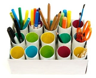 Use Toilet Paper Tubes for Homeschool