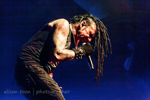 Chad Gray, vocals, HELLYEAH