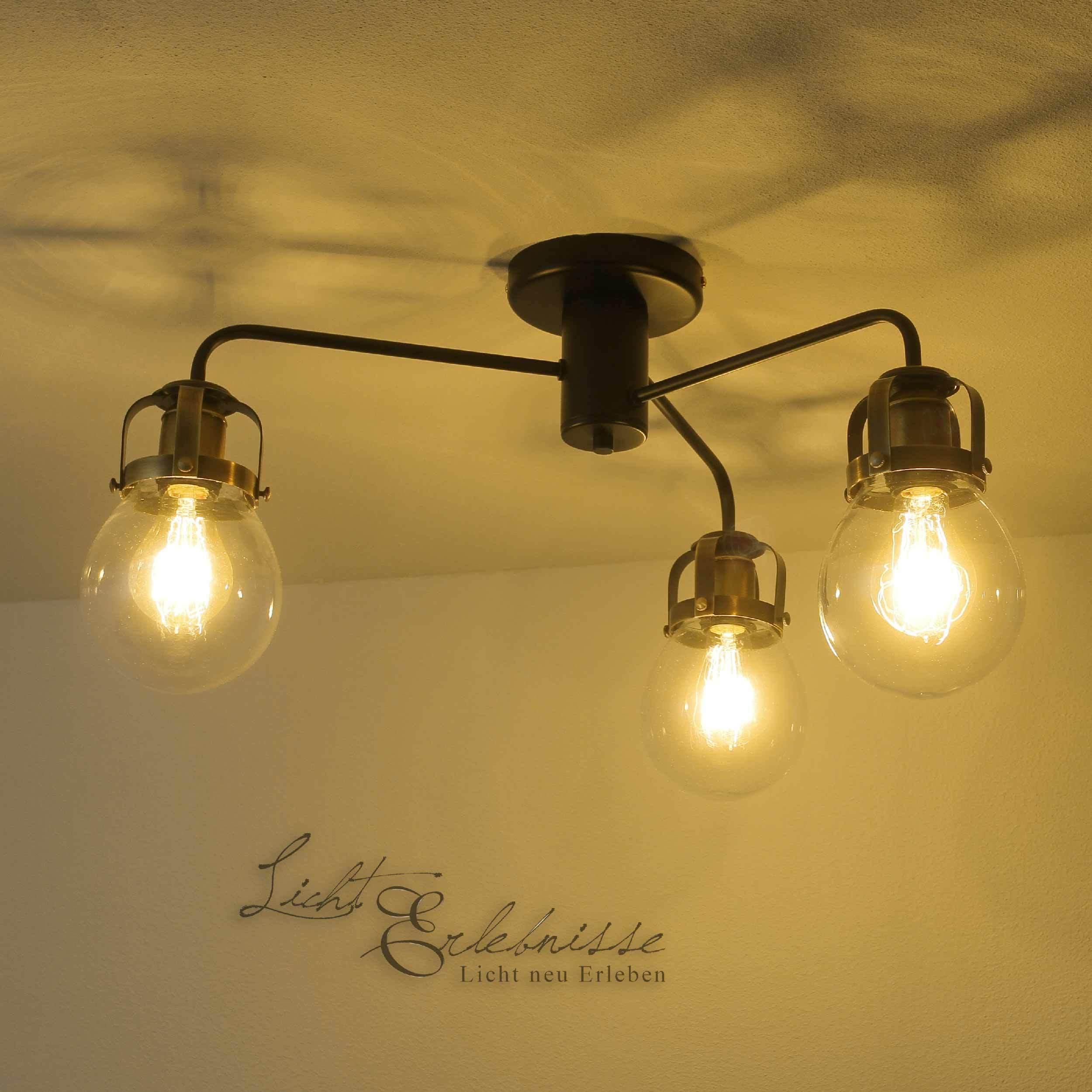 vintage deckenleuchte retro lampe designer metall e27
