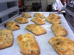 Dark chocolate hazelnut scones