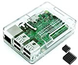 Raspberry Pi3 Model B ボード&ケースセット (Element14版, Clear)-Physical Computing Lab