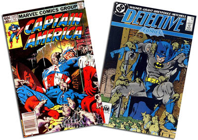 Captain America #272/Detective Comics #585