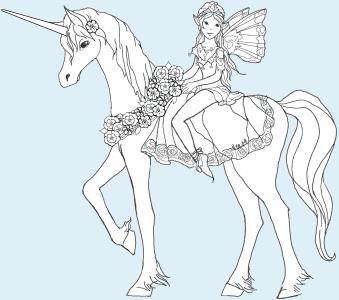 Unicorn and Rider Puppet Instructions
