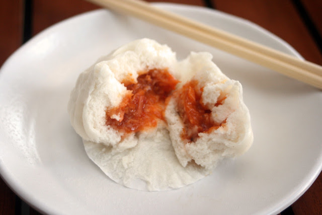 Steamed Chilli Crab Pau