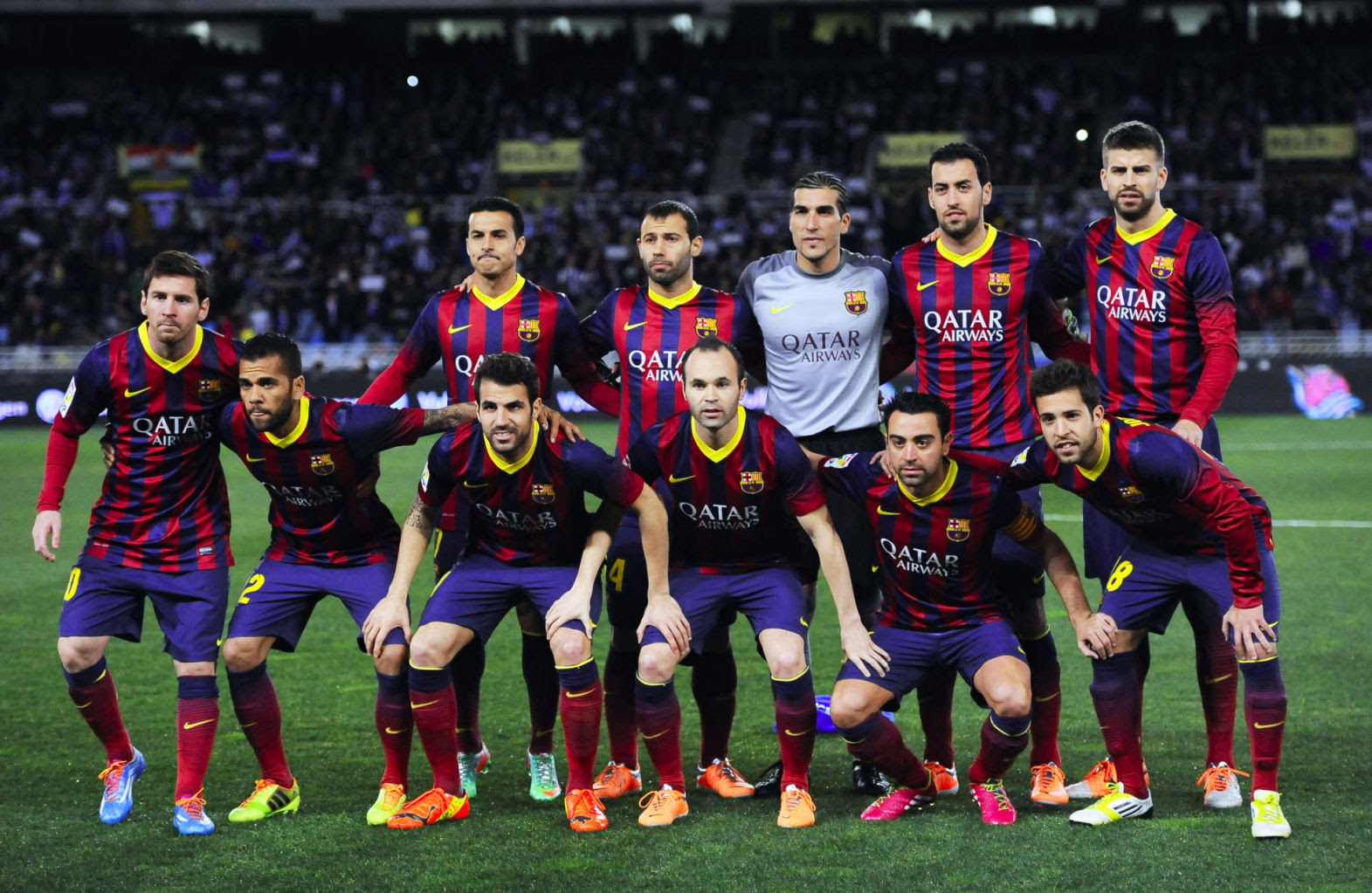Real Sociedad 1-1 Barcelona: Messi helped securing a new ...