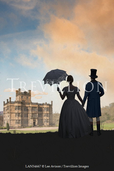 Lee Avison HISTORICAL COUPLE BY GRAND HOUSE Couples