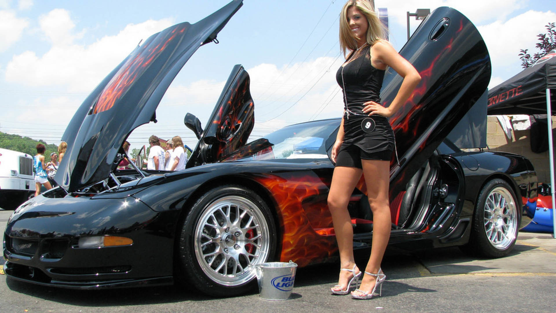 Girls And Muscle Cars Wallpaper 59 Images