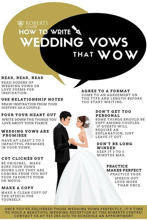 Wedding Vows that Wow   Roberts Centre