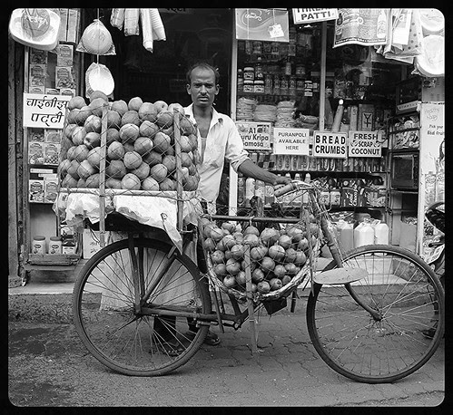 He Sells Apples On A Cycle by firoze shakir photographerno1