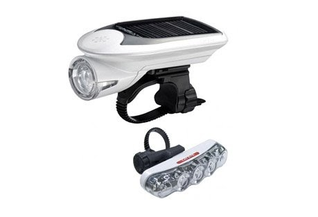 Super Bright Cateye TL-LD610 5 LED Rear Bicycle Light Black