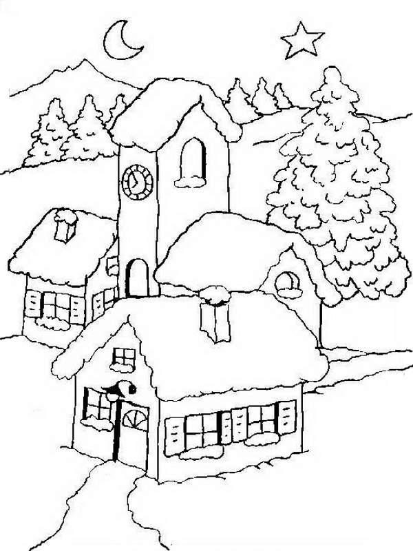 Dibujos De Paisajes Para Colorear Imagesacolorierwebsite