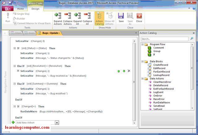 access 2010 programming macro14