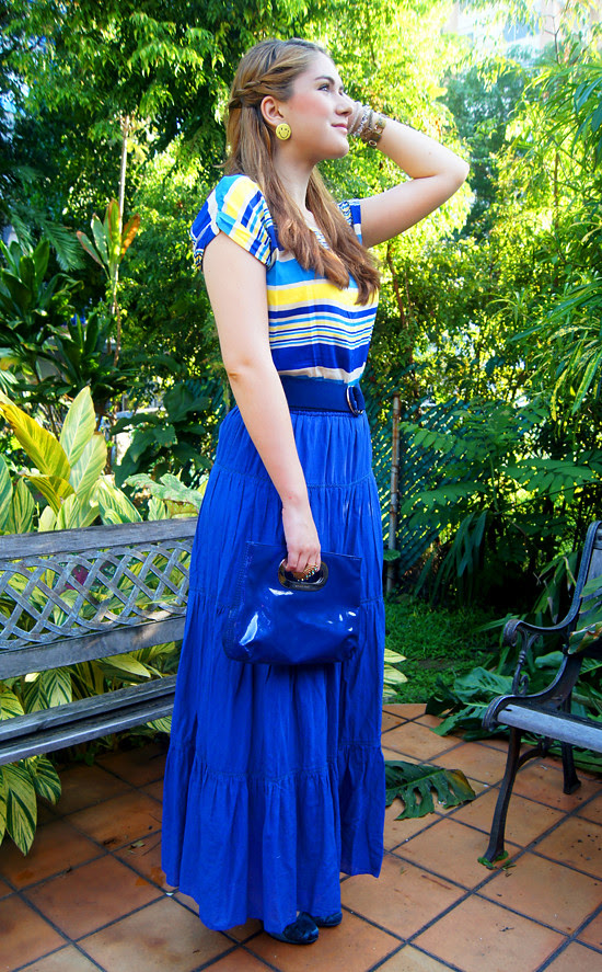 Blue & Yellow by The Joy of Fashion (5)