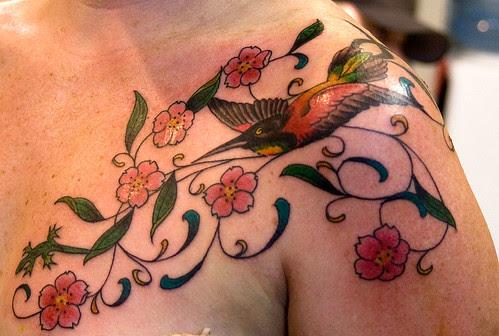 Cool Hummingbird Tattoos