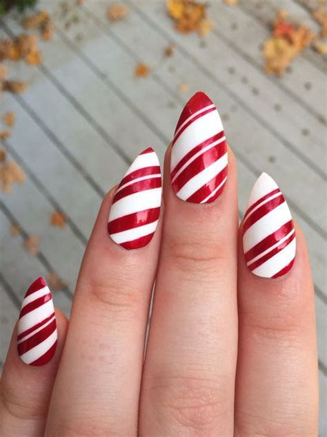 25 Red Christmas Nails   Nail Design Ideaz